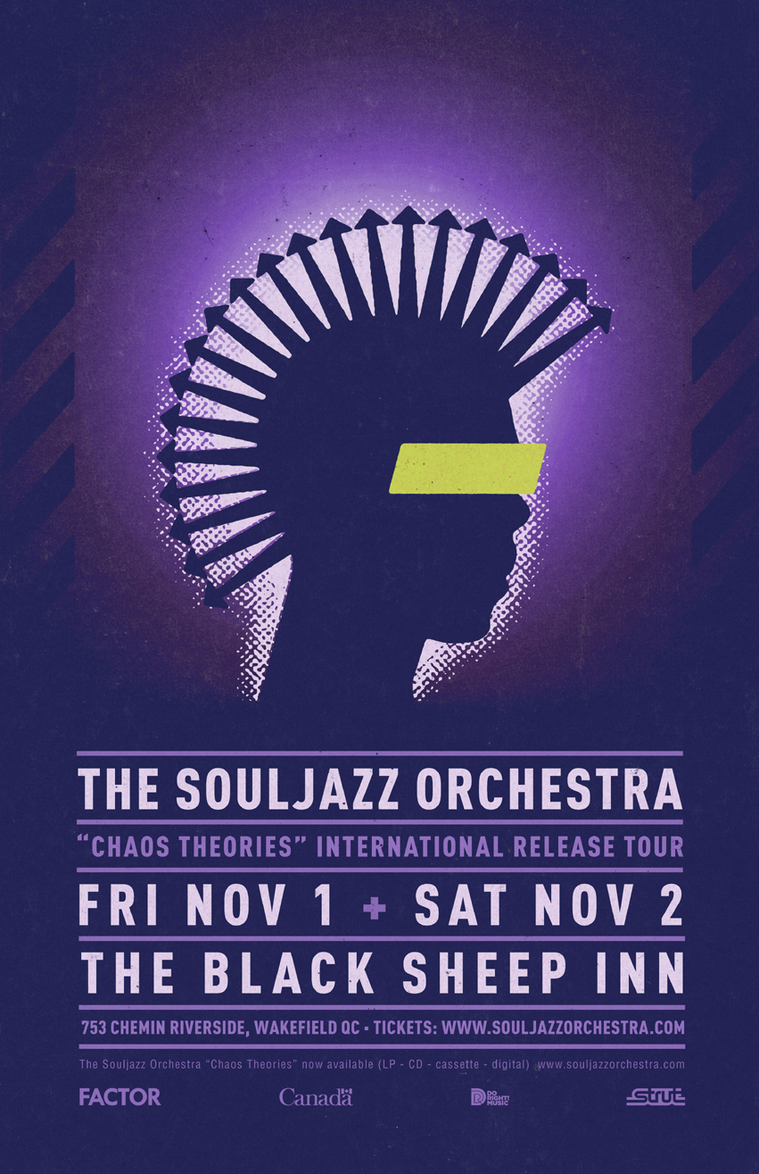 Souljazz Orchestra CD Release (2019) SOLD OUT!
